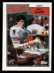 1987 Topps #258  Bret Clark  Front Thumbnail