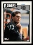 1987 Topps #219  Chris Bahr  Front Thumbnail