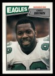 1987 Topps #303  Greg Brown  Front Thumbnail