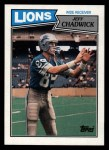 1987 Topps #321  Jeff Chadwick  Front Thumbnail