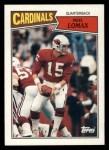 1987 Topps #329  Neil Lomax  Front Thumbnail