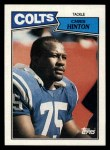 1987 Topps #380  Chris Hinton  Front Thumbnail