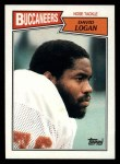 1987 Topps #391  David Logan  Front Thumbnail