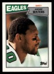 1987 Topps #305  Andre Waters  Front Thumbnail