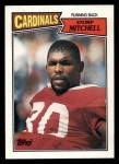 1987 Topps #330  Stump Mitchell  Front Thumbnail