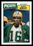 1987 Topps #351  Randy Wright  Front Thumbnail