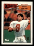 1987 Topps #384  Steve Young  Front Thumbnail