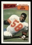 1987 Topps #392  Jeff Davis  Front Thumbnail