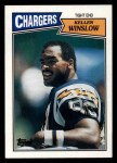 1987 Topps #343  Kellen Winslow  Front Thumbnail