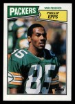 1987 Topps #355  Phillip Epps  Front Thumbnail
