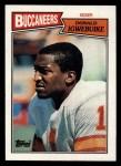 1987 Topps #390  Donald Igwebuike  Front Thumbnail
