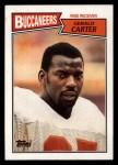 1987 Topps #387  Gerald Carter  Front Thumbnail