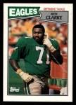 1987 Topps #302  Ken Clarke  Front Thumbnail