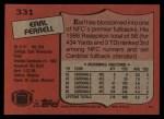 1987 Topps #331  Earl Ferrell  Back Thumbnail
