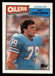 1987 Topps #314  Ray Childress  Front Thumbnail