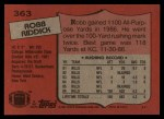 1987 Topps #363  Robb Riddick  Back Thumbnail