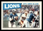 1987 Topps #317   Lions Leaders Front Thumbnail