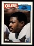 1987 Topps #316  Jesse Baker  Front Thumbnail