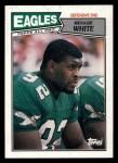 1987 Topps #301  Reggie White  Front Thumbnail