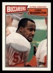 1987 Topps #393  Chris Washington  Front Thumbnail