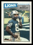 1987 Topps #323  Pete Mandley  Front Thumbnail