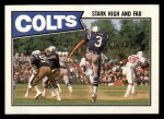 1987 Topps #372   Colts Leaders Front Thumbnail