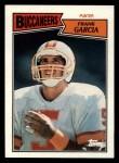 1987 Topps #386  Frank Garcia  Front Thumbnail