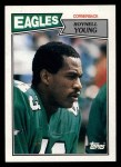 1987 Topps #304  Roynell Young  Front Thumbnail