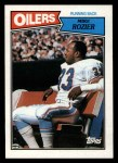 1987 Topps #308  Mike Rozier  Front Thumbnail