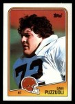 1988 Topps #100  Dave Puzzuoli  Front Thumbnail