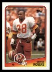 1988 Topps #9  George Rogers  Front Thumbnail