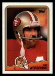 1988 Topps #46  Ray Wersching  Front Thumbnail