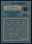1988 Topps #197  T.J. Turner  Back Thumbnail