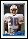 1988 Topps #108  Curtis Duncan  Front Thumbnail