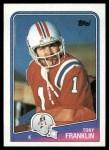 1988 Topps #183  Tony Franklin  Front Thumbnail