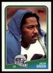1988 Topps #140  Jacob Green  Front Thumbnail