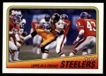 1988 Topps #162   Steelers Leaders Front Thumbnail