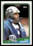 1988 Topps #137  Norm Johnson  Front Thumbnail
