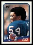 1988 Topps #229  Eugene Marve  Front Thumbnail