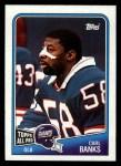 1988 Topps #282  Carl Banks  Front Thumbnail