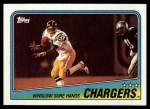 1988 Topps #203   Chargers Leaders Front Thumbnail