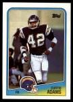 1988 Topps #206  Curtis Adams  Front Thumbnail