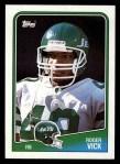 1988 Topps #309  Roger Vick  Front Thumbnail