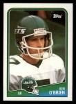 1988 Topps #302  Ken O'Brien  Front Thumbnail