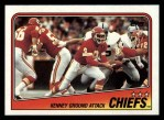 1988 Topps #361   Chiefs Leaders Front Thumbnail
