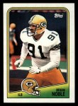 1988 Topps #321  Brian Noble  Front Thumbnail