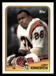 1988 Topps #341  Larry Kinnebrew  Front Thumbnail