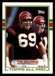 1989 Topps #26  Tim Krumrie  Front Thumbnail