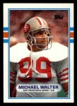 1989 Topps #14  Michael Walter  Front Thumbnail
