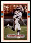 1989 Topps #87  Darrin Nelson  Front Thumbnail